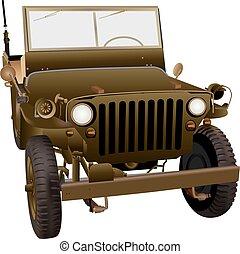 4x4 Military Vehicle