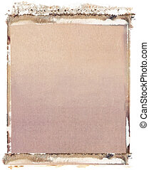 4x5 polaroid transfer - Blank 4x5 format polaroid transfer...
