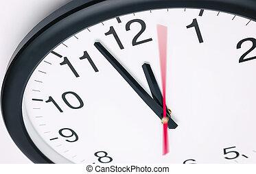 5, へ, 12, 時計, 時間, 概念