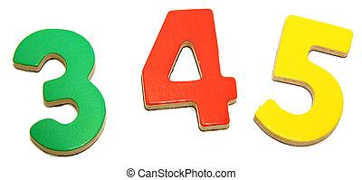 5, 3, colorido, 4, magnético, números