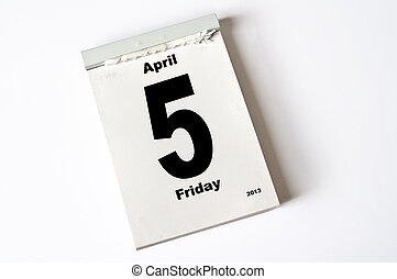 5. April 2013