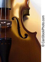 (5), cima, instruments:, violino, fim, musical