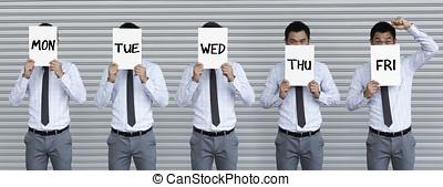 5 days a week