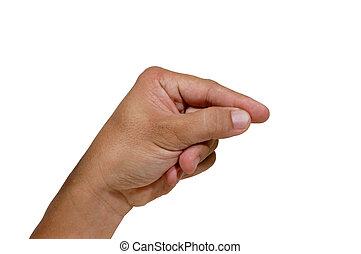 5, doigts, nombre