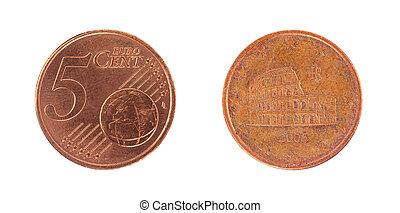 5 euro cent coin