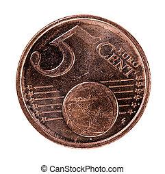 5 euro cents coin