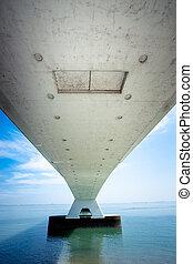 5 Km long Zeelandbrug, Zeeland, Netherlands - Zeelandbrug,...