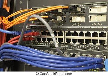5, nätverk, lura