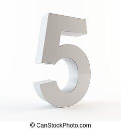 5, numero, 3d