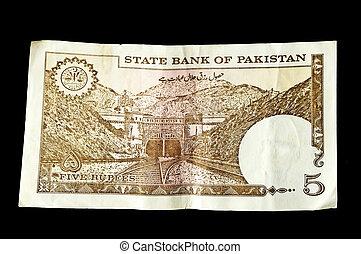 5 Pakistan Rupees