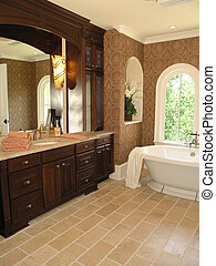 5, salle bains, 2, -, luxe