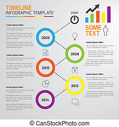 5-Step process infographics