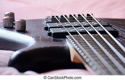 5 Strings Black Bass Guitar