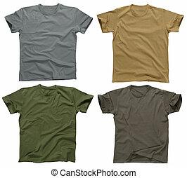 5, t-shirts, vuoto