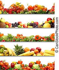 5, voeding, texturen