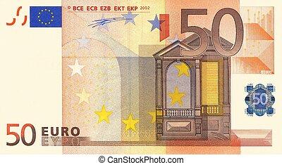 50, ユーロ