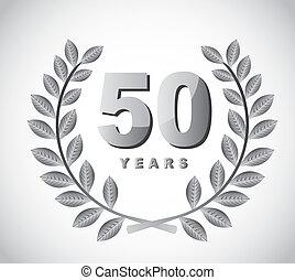 50, 年