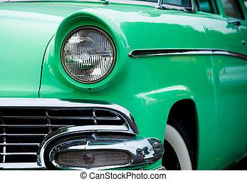50, Américain, fait, classique,  Automobile