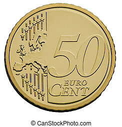 50 cents euro coin