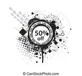 50% discount banner