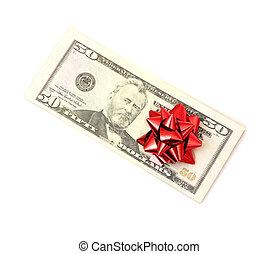 50 Dollar with holidays