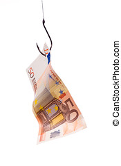 50 Euro an Angelhaken