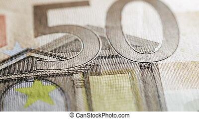 50 euros close-up HD