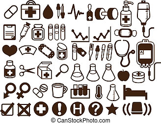 50  Medical and Healthcare Icon