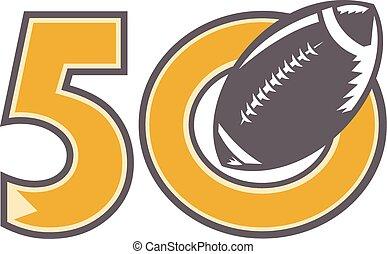 50, meisterschaft, kugel, pro, fußball