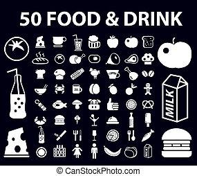 50, nourriture
