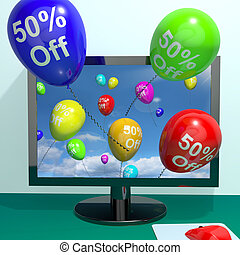 50% Off Balloons From Computer Shows Sale Discount Of Fifty Percent Online