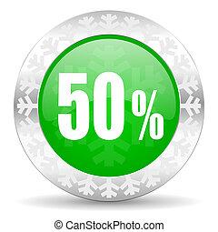50 percent icon