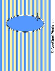 50, retro, blåbär, &, grädde, godis, stripes