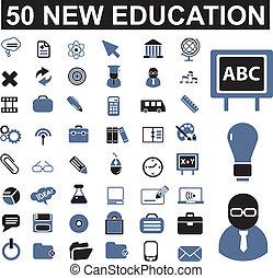 50, sinais, educação