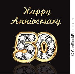 50 years anniversary birthday