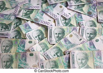 5000, dinar, sedlar