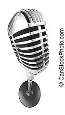 50s, microphone