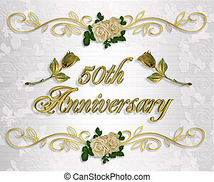 50th, επέτειος , πρόσκληση