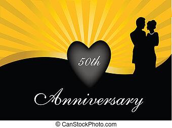 50th, anniversario