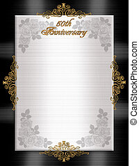 50th Anniversary Formal Invitation