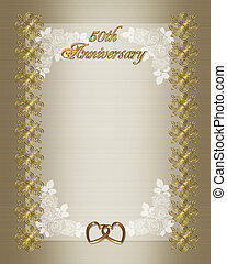 50th anniversary invitation - 50th wedding anniversary...