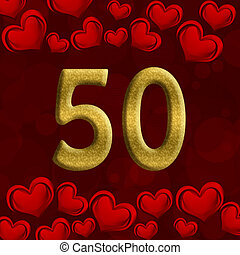 50th, jubileum