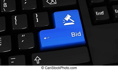 528. Bid Rotation Motion On Computer Keyboard Button. - 528....