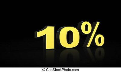 %, 58, prozent, 0, null, animation, fifty-eight, zählen, 3d