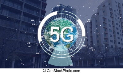 5G displayed in a circle