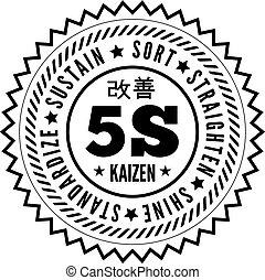 5S methodology kaizen management from japan