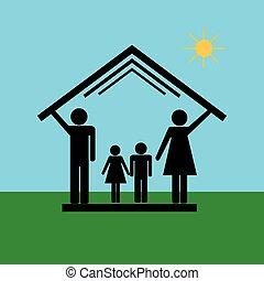 6, 家族, 家, 保護