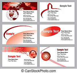 6 business card templates