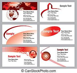 6 business card templates