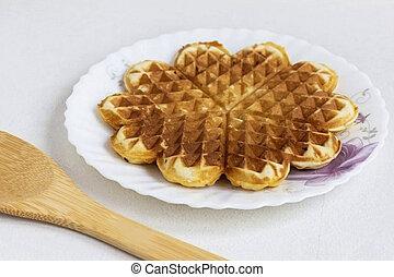 6. Dessert Waffles